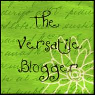 VBA - Versatile Blogger Award image