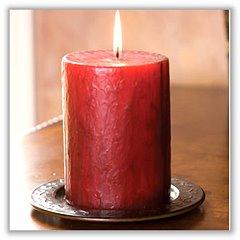 blog image - pillar candle