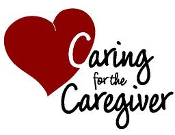 Caregiving - picture with heart