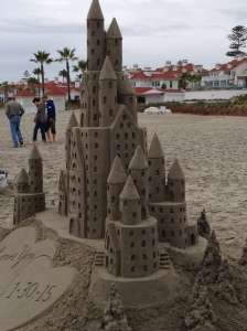 Cinderella Sand Castle
